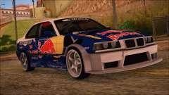 BMW E36 Coupe Bridgestone Red Bull