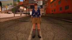 Modern Woman Skin 9 v2 para GTA San Andreas