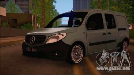 Mercedes-Benz Citan Stock 2013 para GTA San Andreas