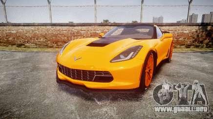 Chevrolet Corvette Z06 2015 TireBr1 para GTA 4