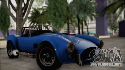 Shelby Cobra V10 TT Black Revel para GTA San Andreas