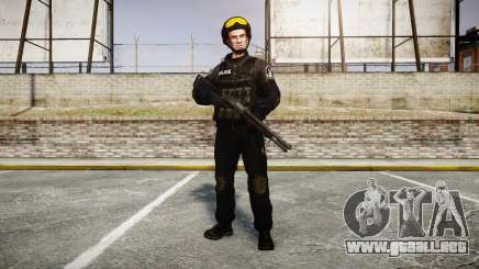 Uniformes de asalto de los grupos especiales. armas para GTA 4