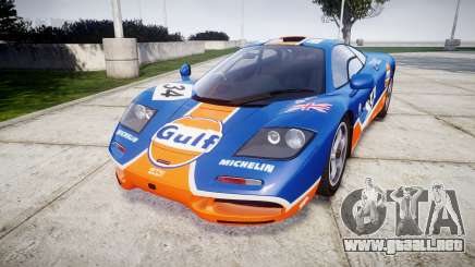 McLaren F1 1993 [EPM] Gulf 34 para GTA 4