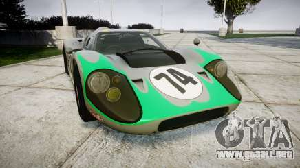 Ford GT40 Mark IV 1967 PJ Arnao Racing 74 para GTA 4