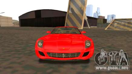 Ferrari 599 Beta v1.1 para GTA San Andreas
