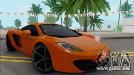 McLaren MP4-12C Gawai v1.4 para GTA San Andreas