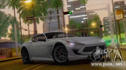 GTA 5 Lampadati Furore GT para GTA San Andreas