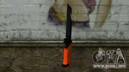 Knife from Battlefield 3 para GTA San Andreas