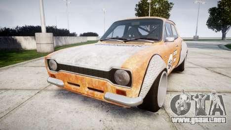 Ford Escort Mk1 Rust Rod v2.0 para GTA 4