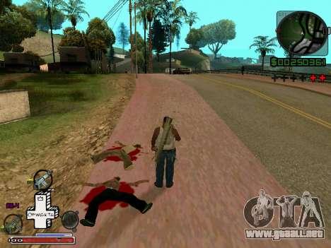 C-HUD Optiwka para GTA San Andreas segunda pantalla