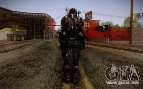 Shepard N7 Defender from Mass Effect 3 para GTA San Andreas segunda pantalla
