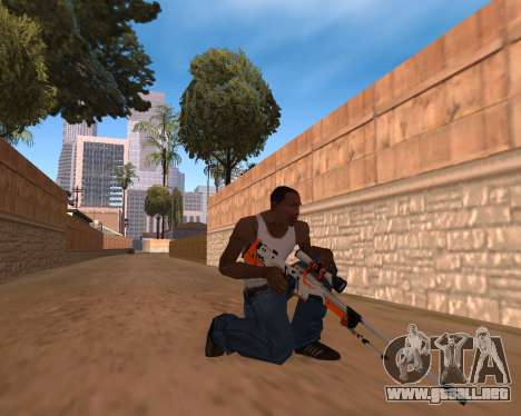 CS:GO Weapon pack Asiimov para GTA San Andreas
