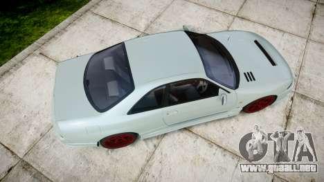Nissan Skyline GT R33 1996 para GTA 4 visión correcta