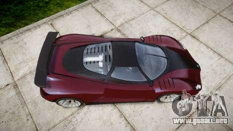 GTA V Grotti Cheetah para GTA 4 visión correcta