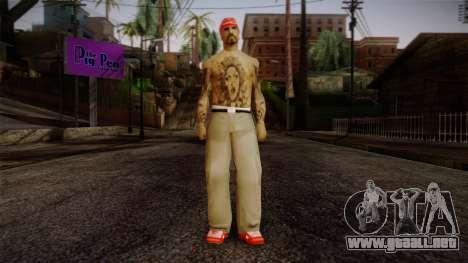 Fresno Buldogs 14 Skin 1 para GTA San Andreas
