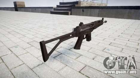 Máquina de FAMAE CT-40 para GTA 4 segundos de pantalla