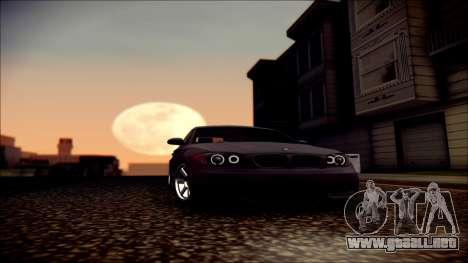BMW 135i para GTA San Andreas interior