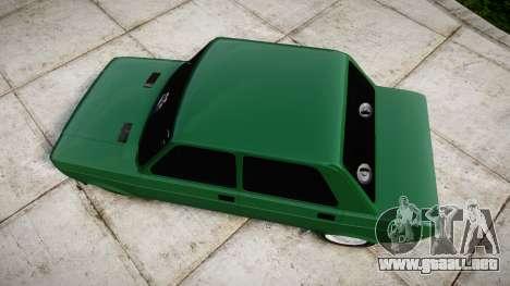Fiat 128 Berlina para GTA 4 visión correcta