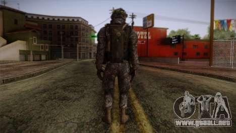 Modern Warfare 2 Skin 6 para GTA San Andreas segunda pantalla