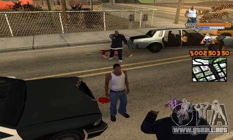 C-HUD by Fernando Delgado para GTA San Andreas tercera pantalla