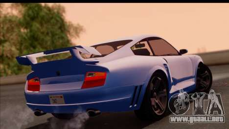 Comet from GTA 5 para GTA San Andreas left