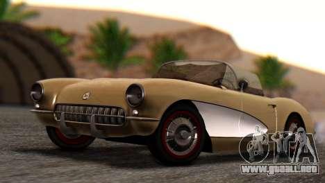 Chevrolet Corvette C1 1962 Dirt para GTA San Andreas