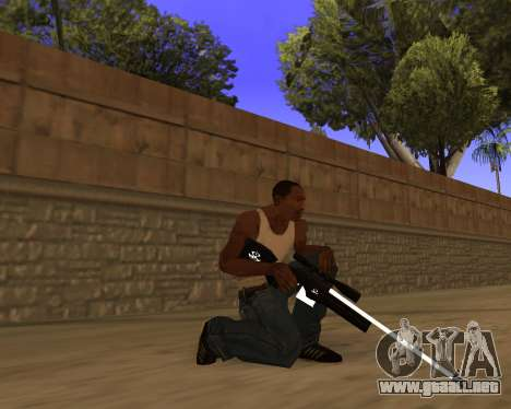Hitman Weapon Pack v2 para GTA San Andreas sucesivamente de pantalla