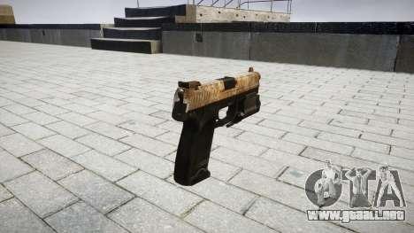 La pistola HK USP 45 polvo para GTA 4 segundos de pantalla