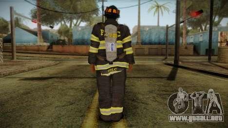 GTA 4 Emergency Ped 10 para GTA San Andreas segunda pantalla