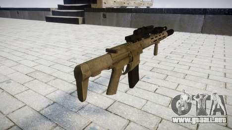 Rifle de asalto AAC Tejón de Miel [Remake] para GTA 4 segundos de pantalla