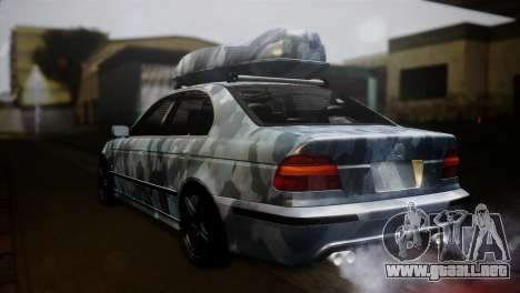 BMW M5 E39 Camouflage para GTA San Andreas left