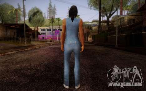 Ginos Ped 19 para GTA San Andreas segunda pantalla