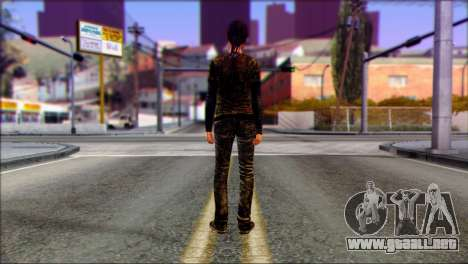 Ellie from The Last Of Us v3 para GTA San Andreas segunda pantalla
