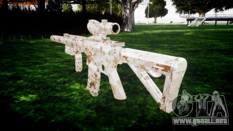 Máquina M4 Devgru destino para GTA 4 segundos de pantalla