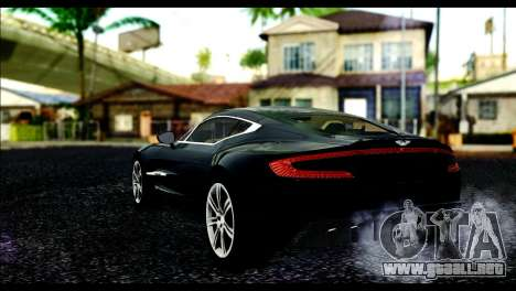 Aston Martin One-77 Beige Black para GTA San Andreas left