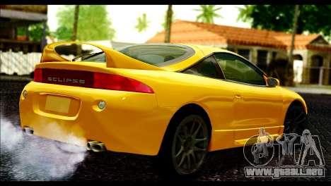 Mitsubishi Eclipce 1999 para GTA San Andreas left