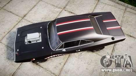 Dodge Charger RT 1970 Shark para GTA 4 visión correcta