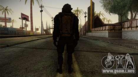 Modern Warfare 2 Skin 2 para GTA San Andreas segunda pantalla