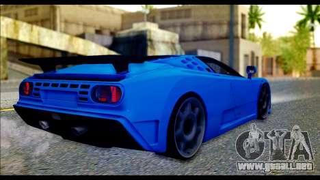 Bugatti EB110SS para GTA San Andreas left
