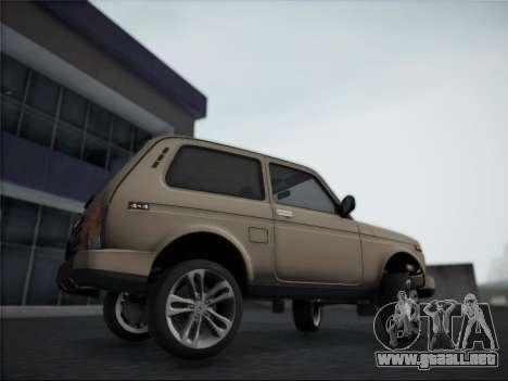Lada Urdan para GTA San Andreas vista posterior izquierda