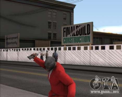 TF2 Spy Butterfly Knife para GTA San Andreas segunda pantalla