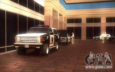 El renacimiento de la LVPD para GTA San Andreas tercera pantalla