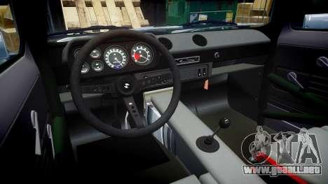 Ford Escort Mk1 Rust Rod v2.0 para GTA 4 vista hacia atrás