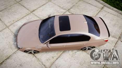 BMW M5 E60 v2.0 Wald rims para GTA 4 visión correcta