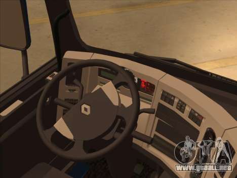 Renault Premium para visión interna GTA San Andreas