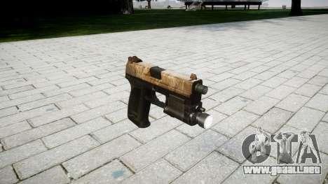 La pistola HK USP 45 polvo para GTA 4