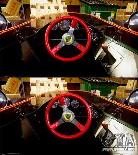 Lotus Type 49 1967 [RIV] PJ23-24 para GTA 4 vista hacia atrás
