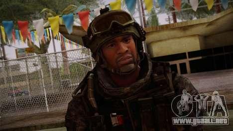 Modern Warfare 2 Skin 6 para GTA San Andreas tercera pantalla