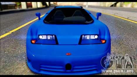Bugatti EB110SS para la visión correcta GTA San Andreas