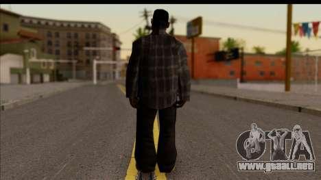 GTA San Andreas Beta Skin 3 para GTA San Andreas segunda pantalla